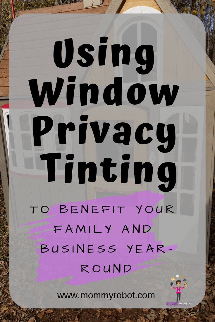 Window Privacy Tinting