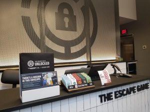 The Escape Game Desk